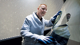 Chemically strengthened glass finds a new application.