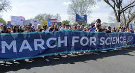 March for Science pushes ahead.