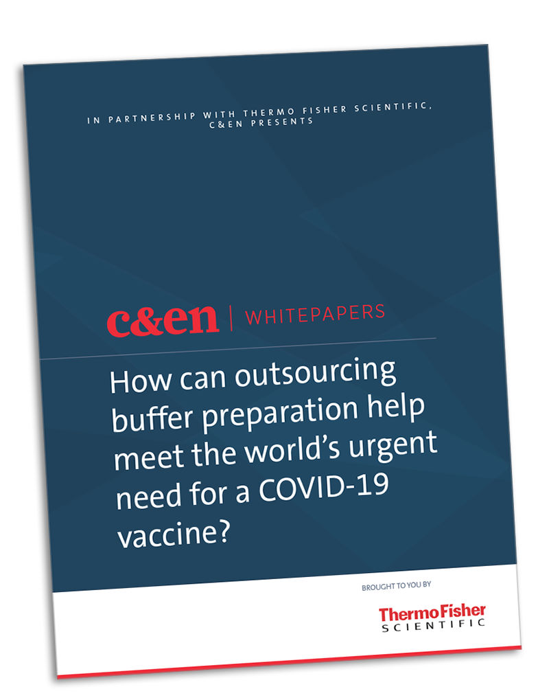 How can outsourcing buffer preparation help meet the world's urgent need for a COVID-19 vaccine?