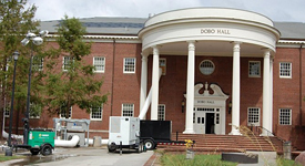 UNC Wilmington chemists relocate in wake of Hurricane Florence.