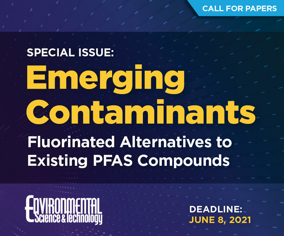 Special Issue: Emerging Contaminants