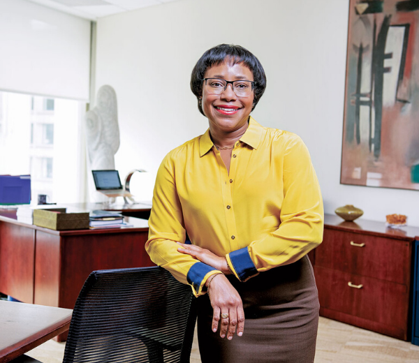 Paula Hammond is charting a course into the start-up world.
