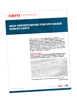 New opportunities for soy-based surfactants