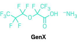 Chemical makers sued for releasing GenX fluorochemical into environment.