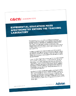 Experiential Education: Mass Spectrometry Enters the Undergrad Lab