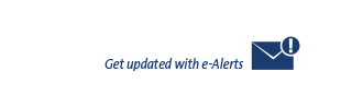 Get updated with e-Alerts
