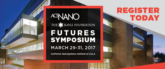 """Announcing the 1st ACS Nano Futures Meeting """"The intersection of precision medicine and the microbiome""""   Dates: March 29-31, 2017 Venue: California NanoSystems Institute at the University of California, Los Angeles"""