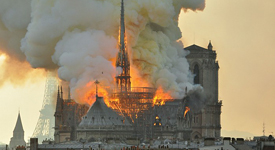 Notre-Dame cathedral fire released lead into Paris neighborhoods.