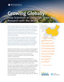 Growing Globally: How Scientists in China Can Share Their Research with the World