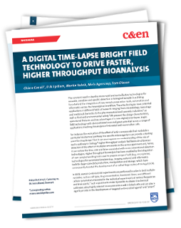 A Digital Time-lapse, Bright Field Technology to Drive Faster, Higher Throughput Bioanalysis